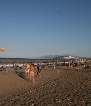 Sports on the beach