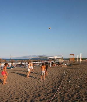 Και για τους πιο αθλητικούς,beach volley!